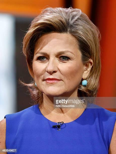 Cynthia McFadden appears on NBC News' Today show