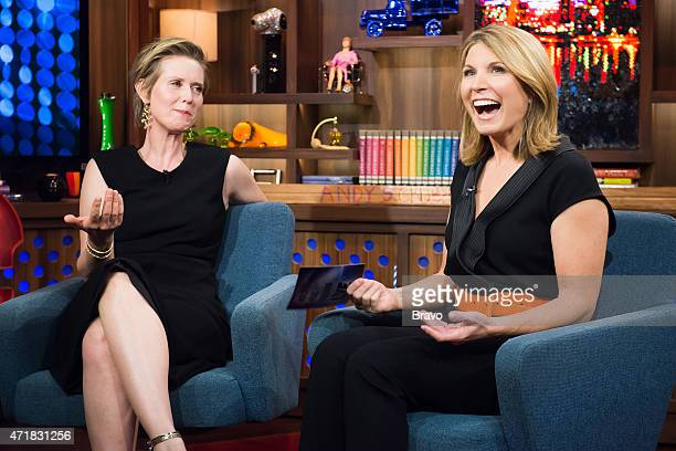 Cynthia Nixon and Nicolle Wallace