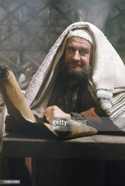 Cyril Cusack as Yehuda Photo by NBC/NBCU Photo Bank