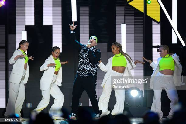 Pictured: Daddy Yankee performs at the Mandalay Bay Resort and Casino in Las Vegas, NV on April 25, 2019 --