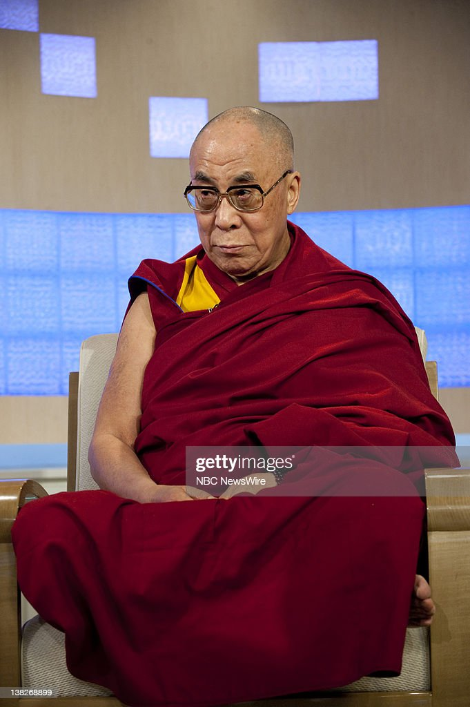 Dalai Lama -- In an exclusive interview with NBC News' Ann Curry