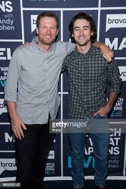 Dale Earnhardt Jr and Ryan Blaney