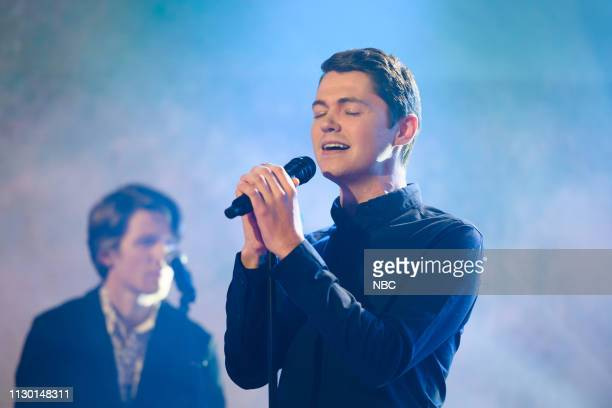 Damian McGinty on Tuesday March 12 2019