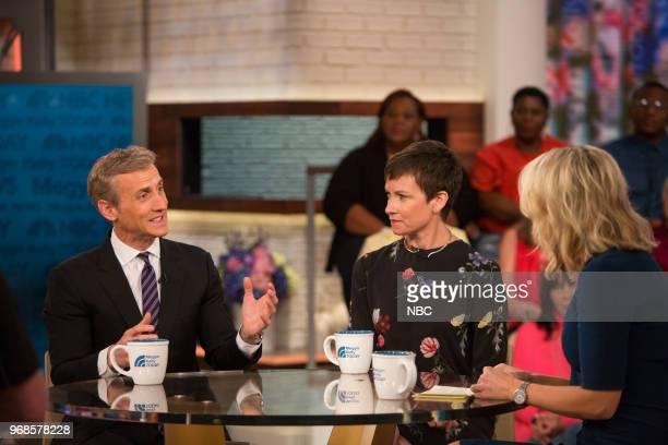 Dan Abrams Stephanie Gosk and Megyn Kelly on Wednesday June 6 2018