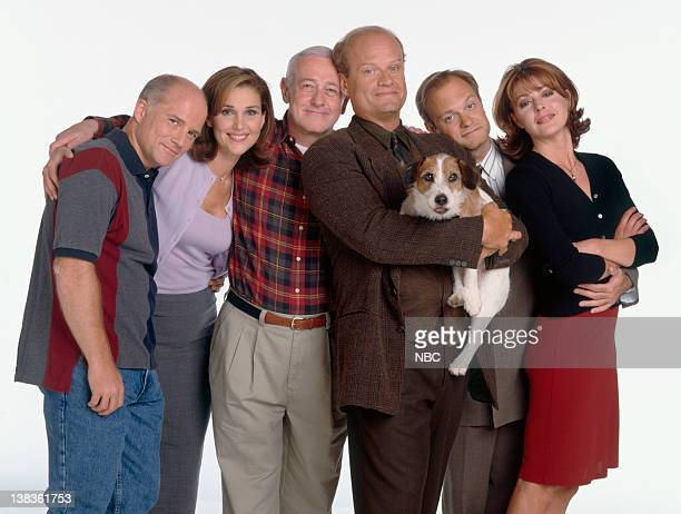Dan Butler as Bob 'Bulldog' Briscoe Peri Gilpin as Roz Doyle John Mahoney as Martin Crane Kelsey Grammer as Dr Frasier Crane Moose as Eddie David...