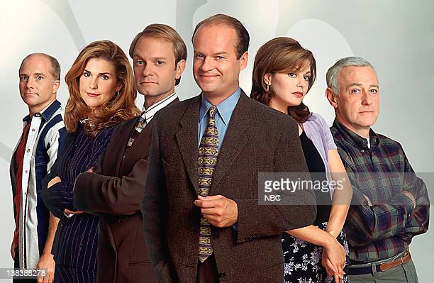 Dan Butler as Bob 'Bulldog' Briscoe Peri Gilpin as Roz Doyle David Hyde Pierce as Dr Miles Crane Kelsey Grammer as Dr Frasier Crane Jane Leeves as...