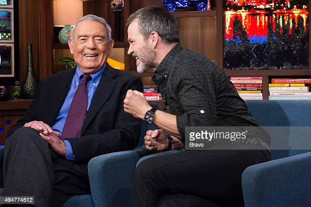 Dan Rather and Stephen Moyer