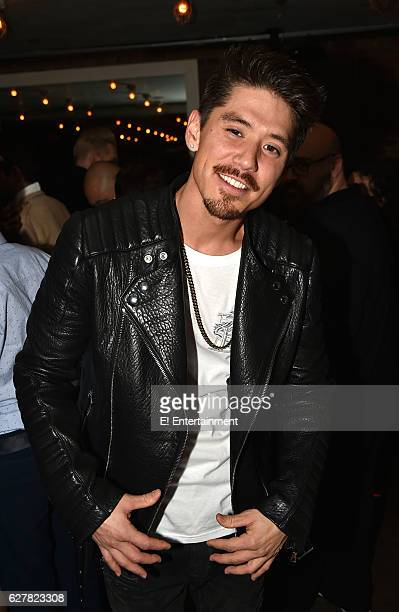 Dancer/Choreographer Bryan Tanaka at the 'Mariah's World' Premiere at Catch in New York NY on December 4 2016