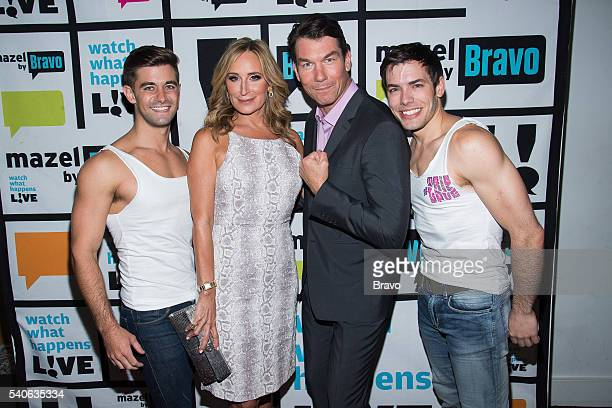 Daniel Lynn Evans Sonja Morgan Jerry O'Connell and Brandon Leffler