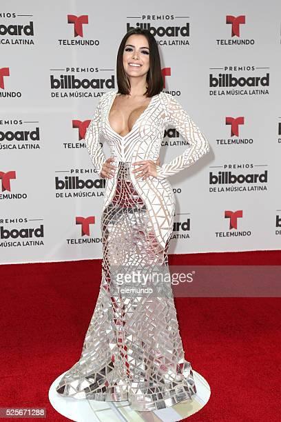 Daniela Navarro arrives at the 2016 Billboard Latin Music Awards at the BankUnited Center in Miami Florida on April 28 2016