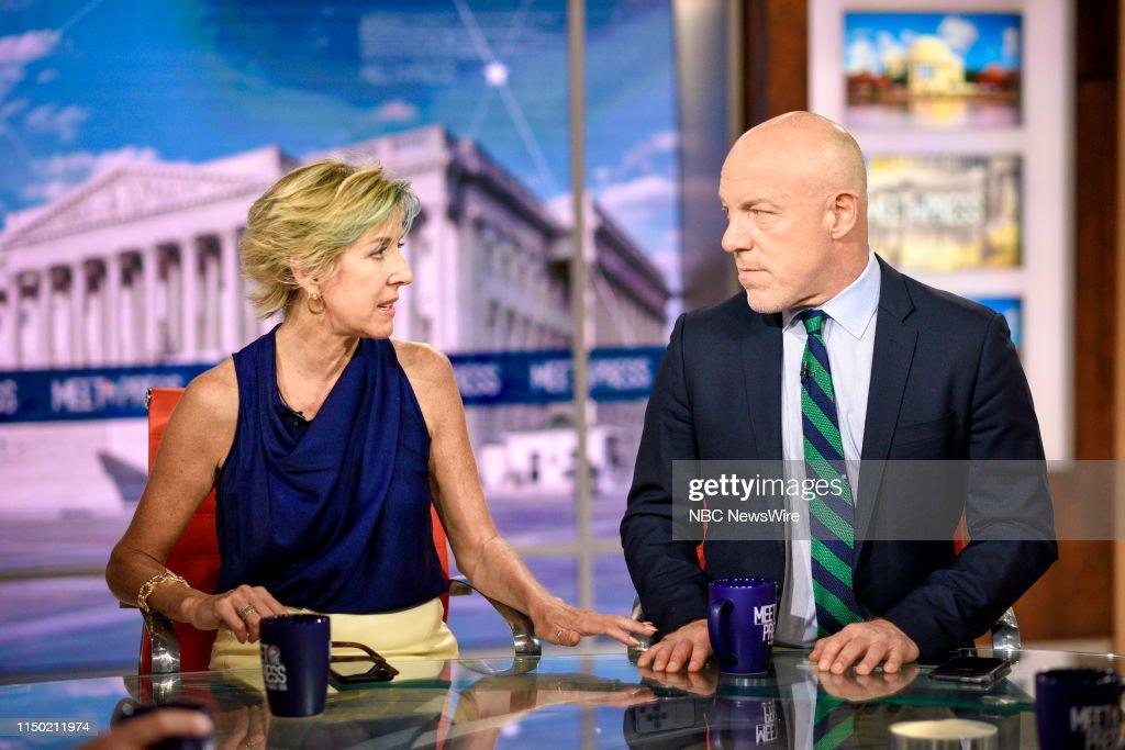Meet the Press - Season 72 : News Photo