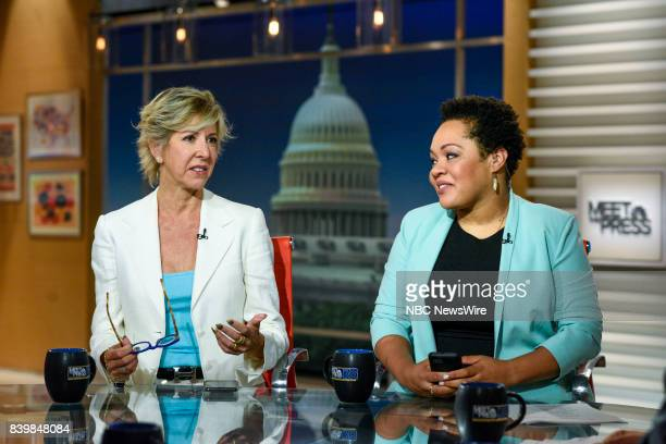 Danielle Pletka SVP Foreign and Defense Policy Studies at the American Enterprise Institute and Yamiche Alcindor National Political Reporter The New...
