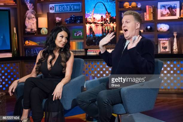 Danielle Staub and Michael Rapaport