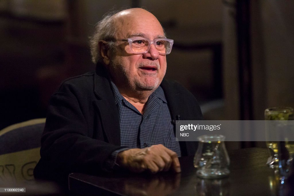 "NY: NBC's ""Sunday TODAY with Willie Geist"" with Danny DeVito"
