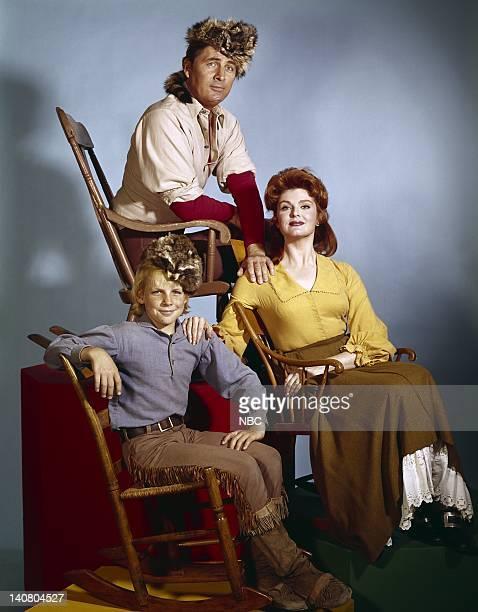 Darby Hinton as Israel Boone Fess Parker as Daniel Boone Patricia Blair as Rebecca Boone Photo by NBCU Photo Bank