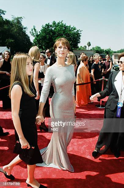 Daughter Annie Guest Jamie Lee Curtis arrive at the 50th Annual Primetime Emmy Awards held at the Shrine Auditorium in Los Angeles CA on September 13...