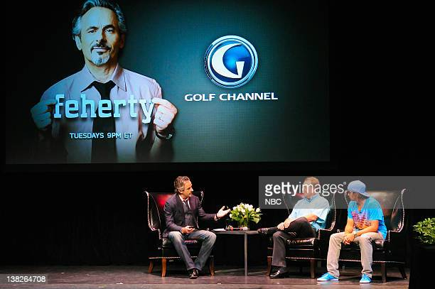 David Feherty Fred Funk Rickie Fowler Golfer and analyst David Feherty's opening reception for his upcoming talk show on the Golf Channel Tuesday...