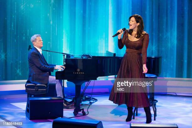 David Foster and Katharine McPhee-Foster on Tuesday, November 19, 2019 --
