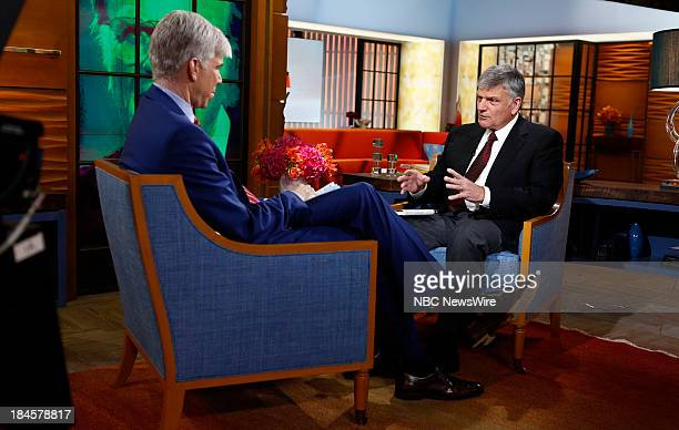 David Gregory and Franklin Graham appear on NBC News' 'Today' show