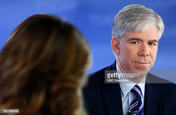 David Gregory appears on NBC News' 'Today' show