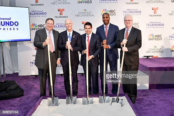 David L Cohen Senior Executive Vice President and Chief Diversity Officer Comcast Corporation Florida Governor Rick Scott Cesar Conde Chairman...