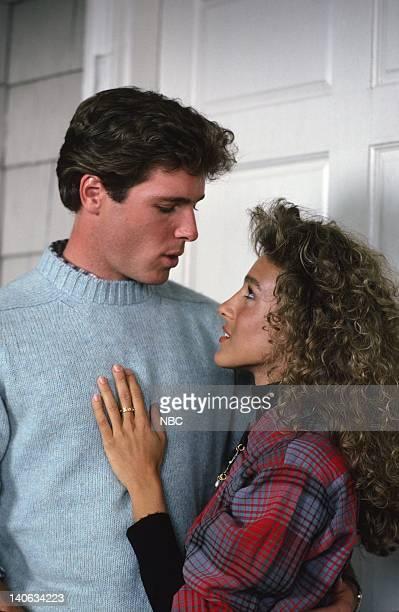 David Oliver as Sam Gardner Sarah Jessica Parker as Kay Ericson Gardner Photo by Gary Null/NBCU Photo Bank