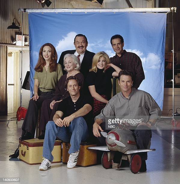 David Schramm as Roy Biggins, Tony Shalhoub as Antonio Scarpacci, Amy Yasbeck as Casey Davenport, Rebecca Schull as Fay Evelyn Schlob Dumbly DeVay...