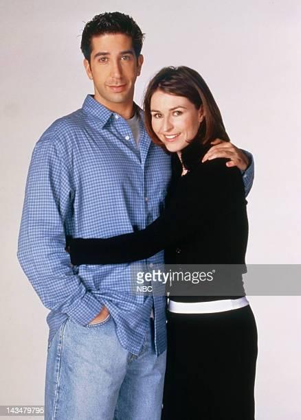 David Schwimmer as Ross Geller, Helen Baxendale. As Emily Waltham