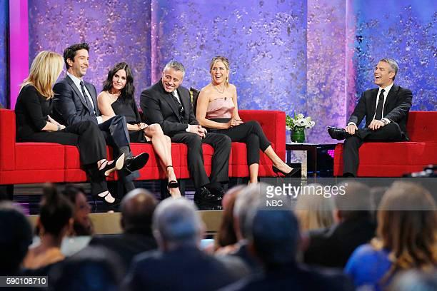 David Schwimmer Courteney Cox Matt LeBlanc Jennifer Aniston Andy Cohen