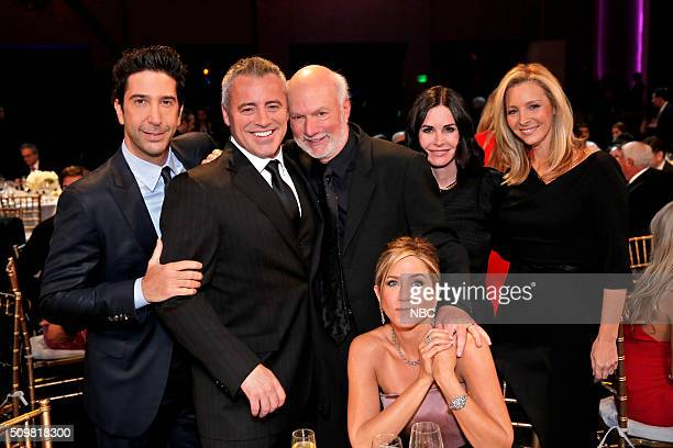 David Schwimmer Matt LeBlanc James Burrows Jennifer Aniston Courteney Cox Lisa Kudrow