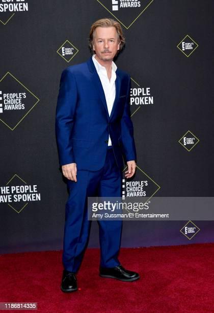 David Spade arrives to the 2019 E People's Choice Awards held at the Barker Hangar on November 10 2019 NUP_188989