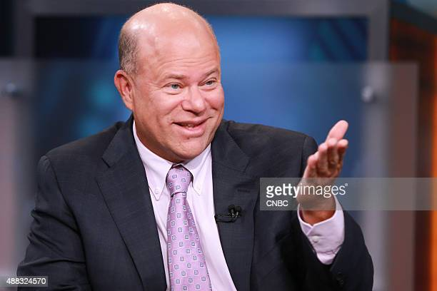 David Tepper president and founder of Appaloosa Management in an interview on September 10 2015