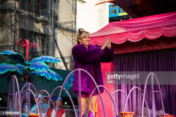 Debbie Gibson onThe Shimmer and Shine from Nickelodeon float at the 93rd Macy's Thanksgiving Day Parade in New York City on Thursday November 28 2019