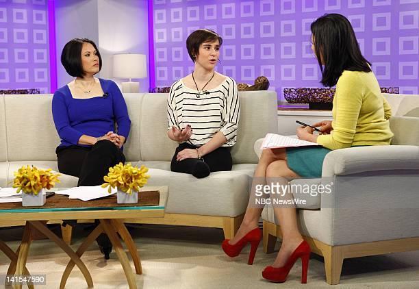 Deborah Beninati Anna Beninati and Ann Curry appear on NBC News' 'Today' show Photo by Peter Kramer/NBC/NBC NewsWire