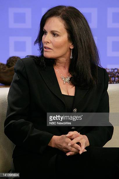 Denise Brown in an exclusive interview debating whether OJ Simpson's book If I Did It should be published on NBC News' Today on August 15 2007 Photo...