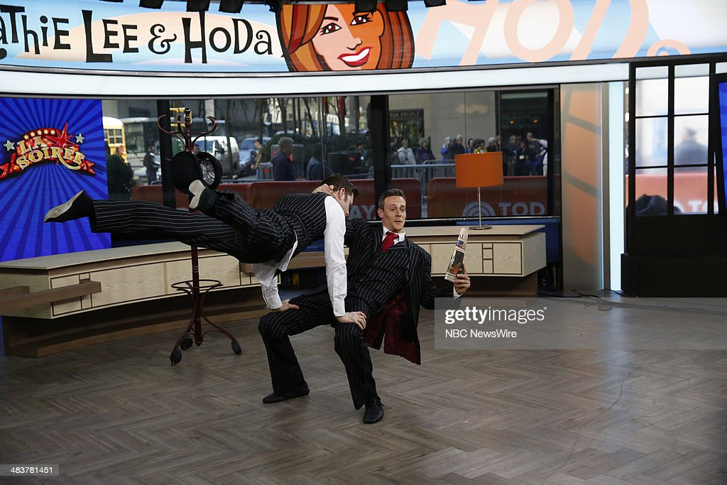 Dennis Lock and Hamish McCann from La Soiree appear on NBC News' 'Today' show --