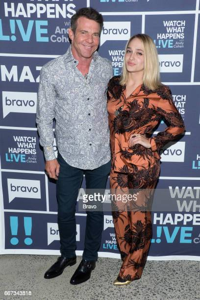 Dennis Quaid and Jemima Kirke