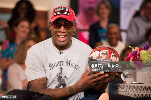 Dennis Rodman on Tuesday June 19 2018
