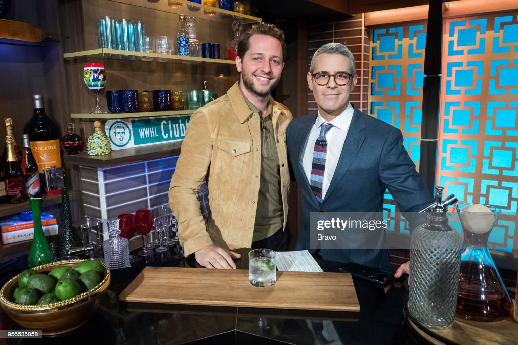 Derek Blasberg and Andy Cohen --
