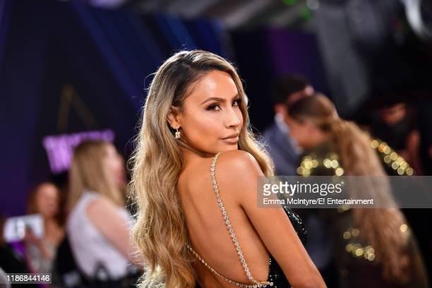 Desi Perkins arrives to the 2019 E People's Choice Awards held at the Barker Hangar on November 10 2019 NUP_188994