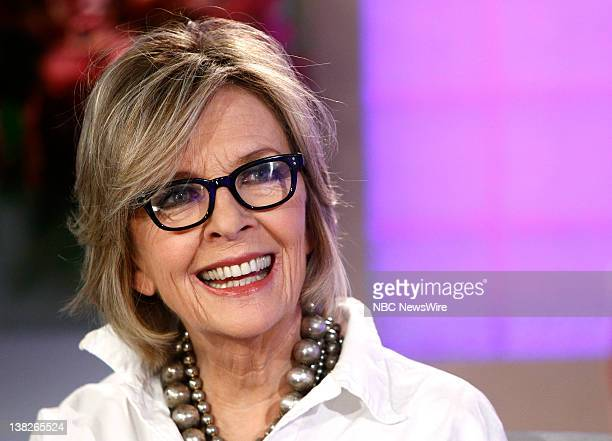 Diane Keaton appears on NBC News' Today show