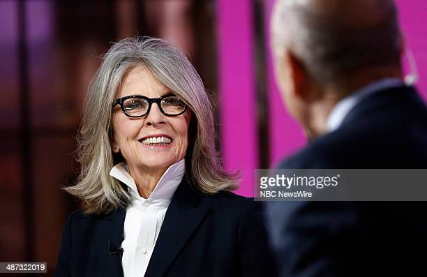 Diane Keaton appears on NBC News' 'Today' show