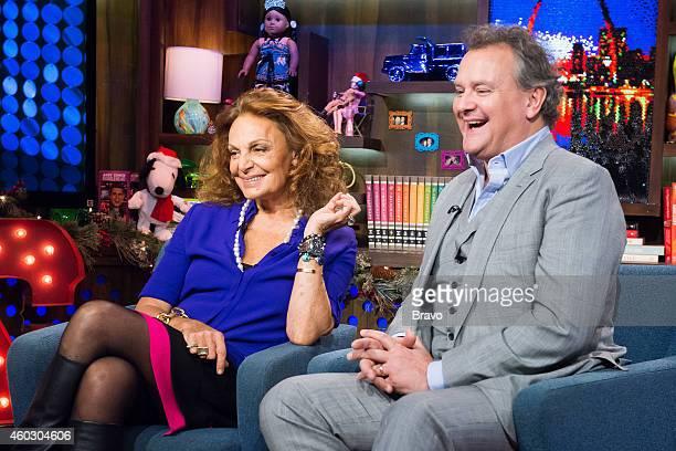Diane von Furstenberg and Hugh Bonneville
