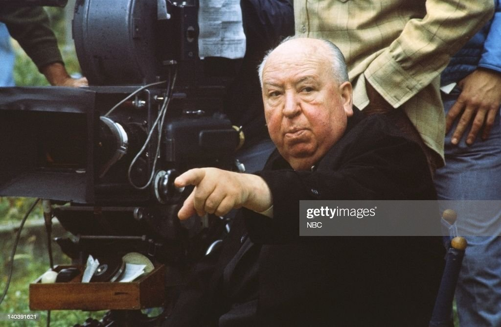 Director, Alfred Hitchcock, circa 1970 -- Photo by: NBCU Photo Bank