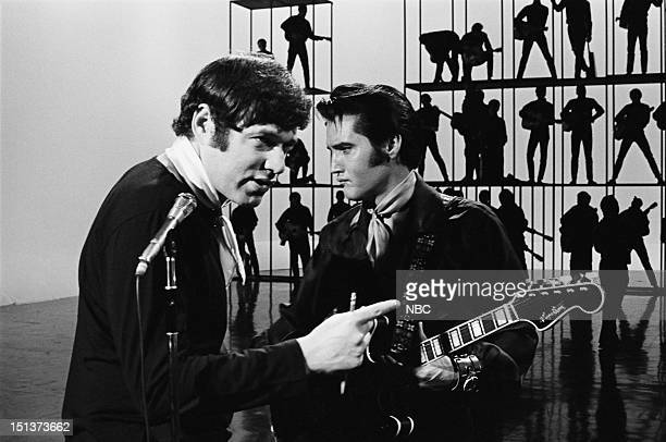 '68 COMEBACK SPECIAL Pictured Director Steve Binder Elvis Presley during his '68 Comeback Special on NBC