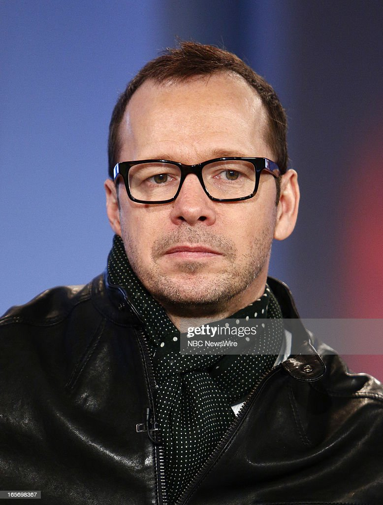 Donnie Wahlberg of New Kids on the Block appears on NBC News' 'Today' show --