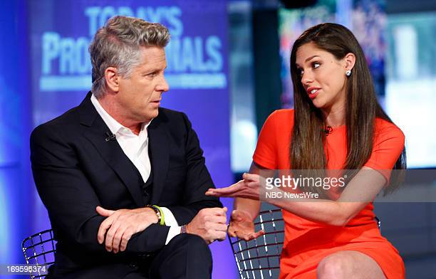 Donny Deutsch and Abby Huntsman appear on NBC News' 'Today' show