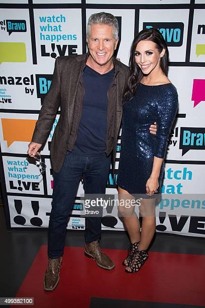 Donny Deutsch and Scheana Shay