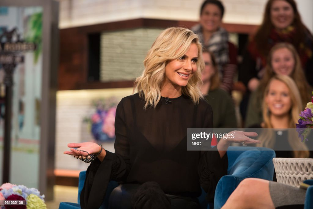 Dorit Kemsley and Megyn Kelly on Tuesday, March 13, 2018 --