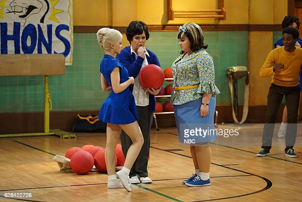 Dove Cameron as Amber Von Tussle Rosie O'Donnell as Health Ed Teacher Maddie Baillio as Tracy Turnblad